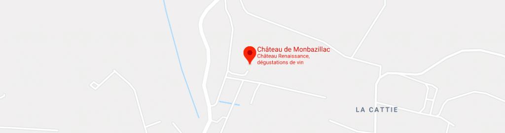 Chateau Monbazillac Plan Acces