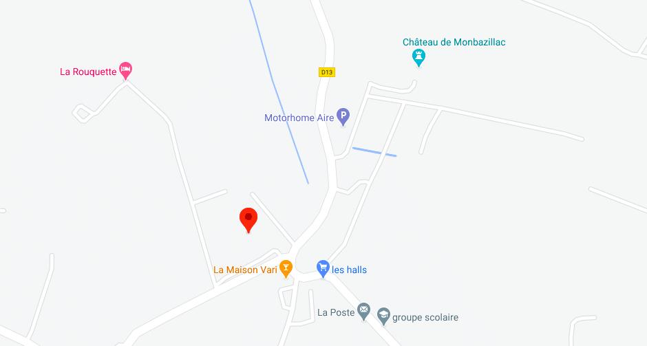 Plan Halles Marche Monbazillac