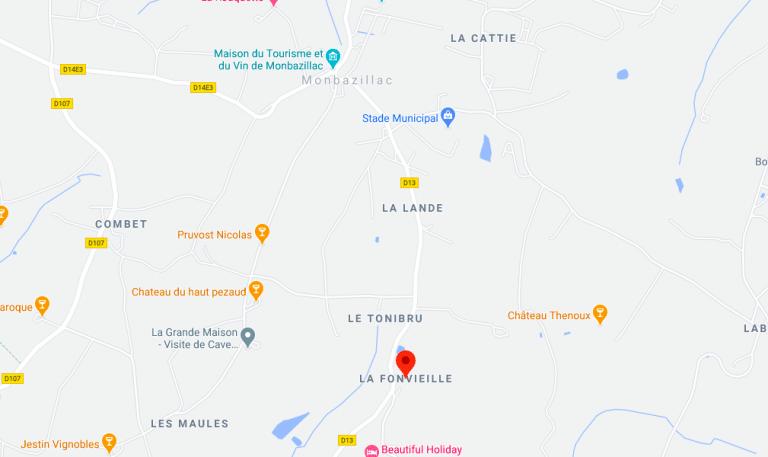 Plan La Fonvieille