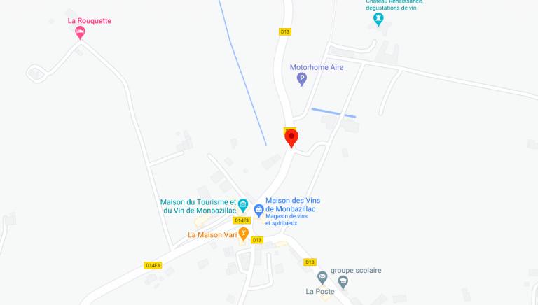 Plan Lavoir Monbazillac